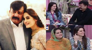 Aiman Khan and Minal Khan Father Beautiful Video from Good Morning Pakistan