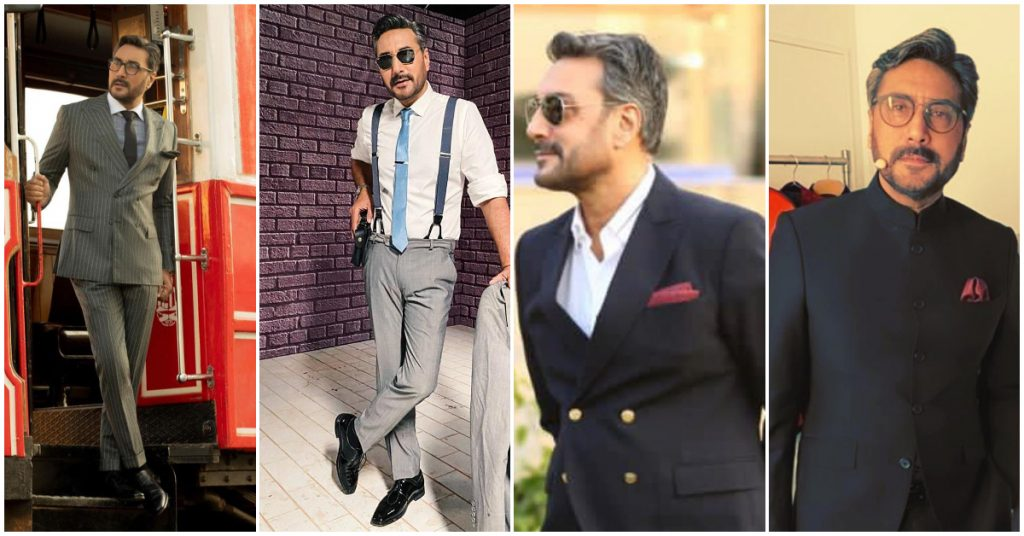 Most Elegant Suits Adnan Siddiqui Has Worn Recently