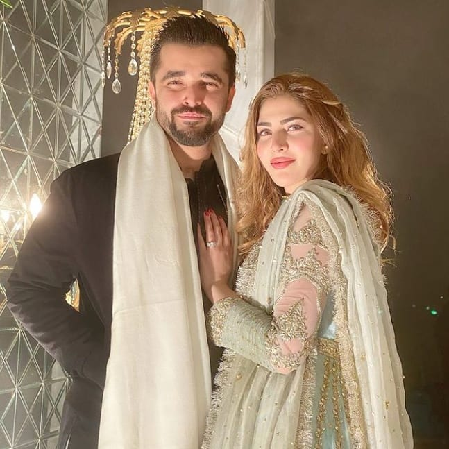 Hamza Ali Abbasi with his Wife and Son - Latest Pictures