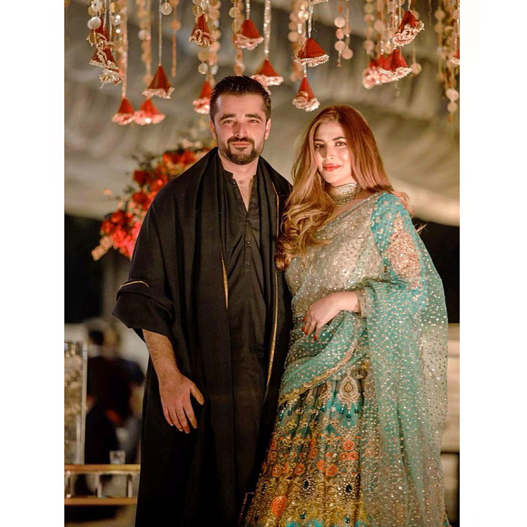 Hamza Ali Abbasi and Naimal Khawar Pictures from Wedding