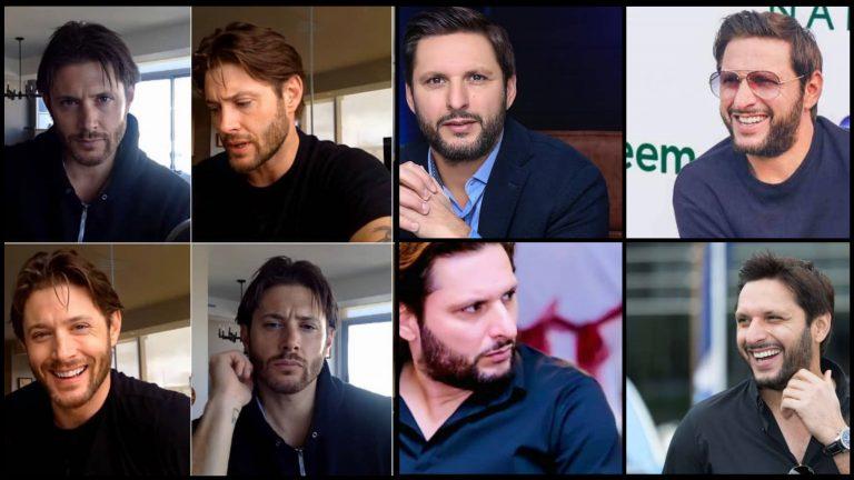 Here Is Shahid Afridi's Doppelganger Jensen Ackles
