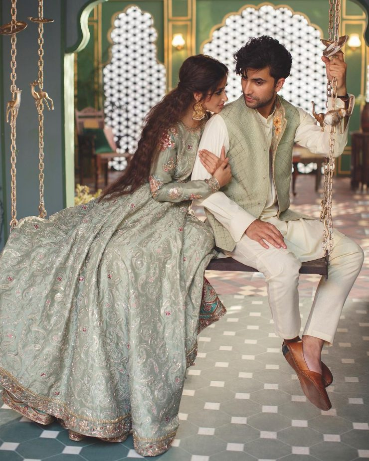 Here's How This Photoshoot Of Zara Shahjahan Is Blatant Copy Of A Suitable Boy