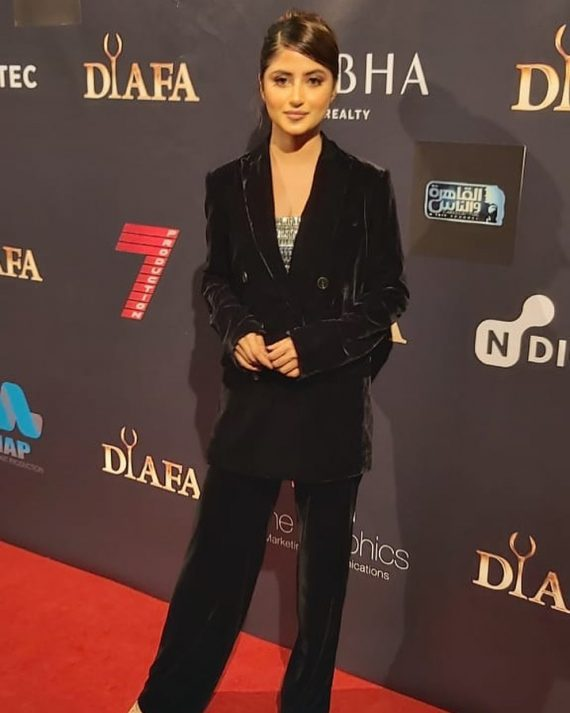Here's Why Sajal Aly Chose To Wear Full Suit At DIAFA