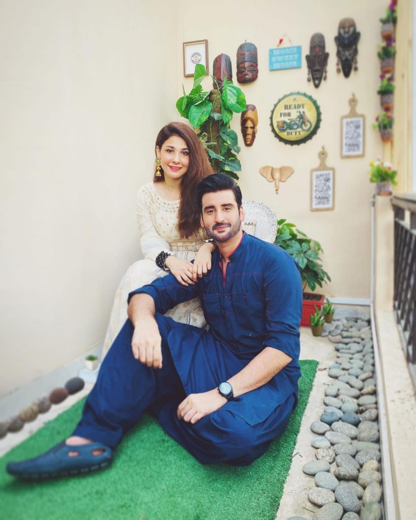 Hina Altaf Styled Herself In Husband's Clothes