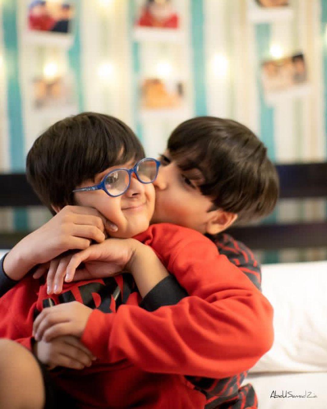 Hira and Mani Son Ibrahim Beautiful Birthday Photoshoot