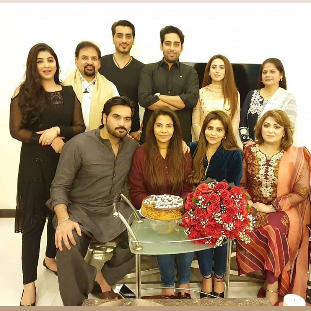 Humayun Saeed Wife Samina Birthday Pictures