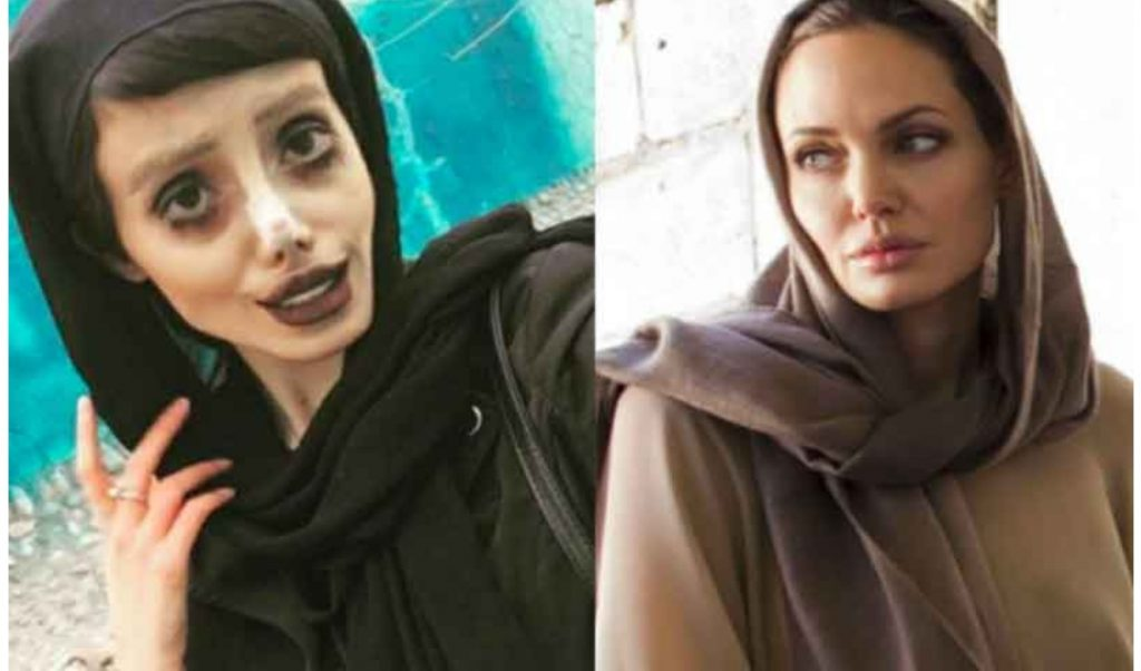 Angelina Jolie's Iranian lookalike imprisoned for 10 years