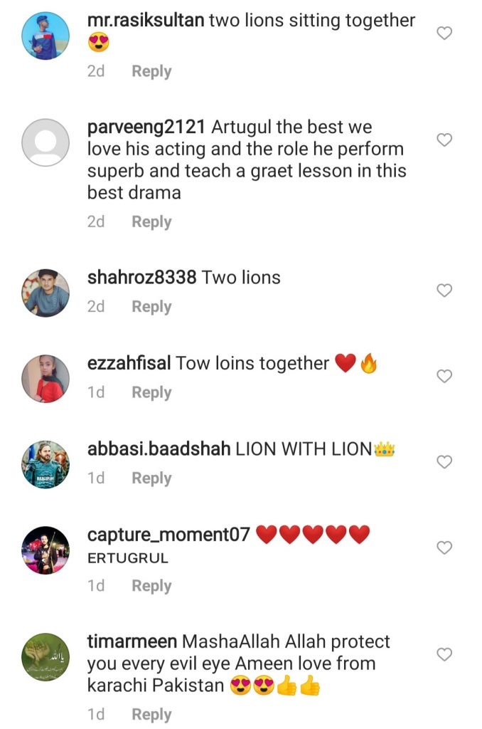 Engin Altan Holding Lion - Public Reaction