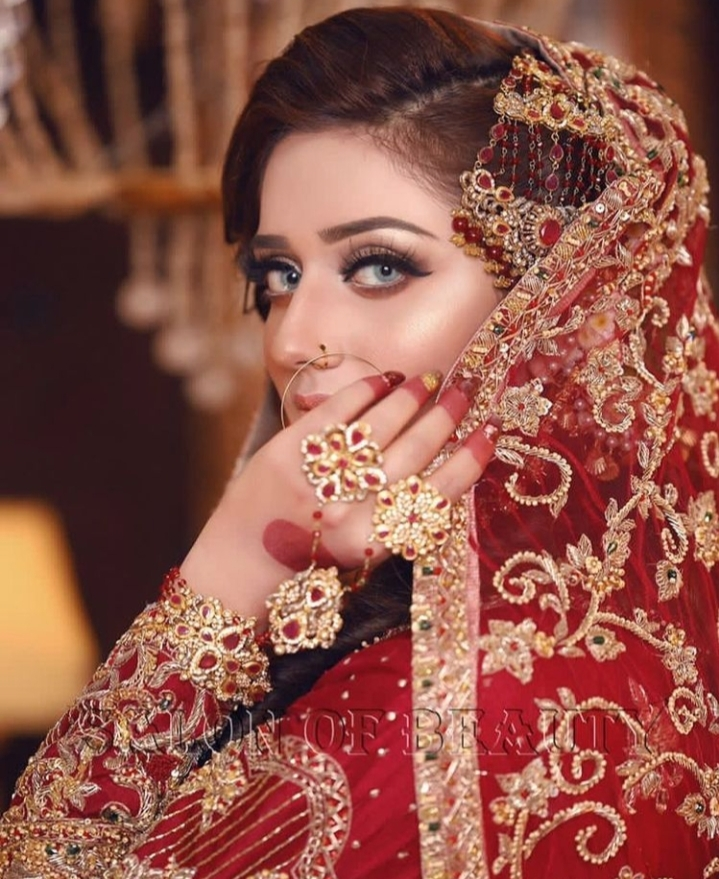 Latest Bridal Shoot Of Tik Tok Star Jannat Mirza