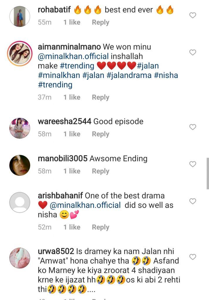 Jalan Last Episode - Public Reaction