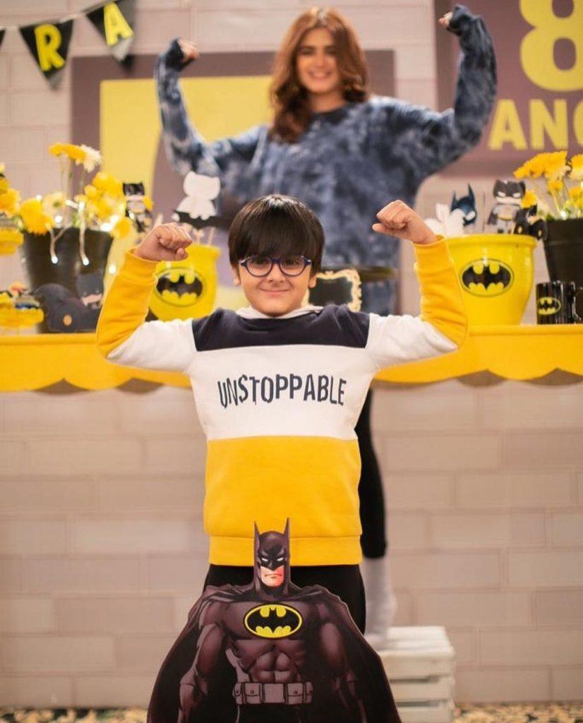Hira Mani Celebrates her son's BatMan-Themed Birthday