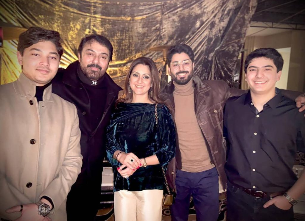 Nauman Ijaz Family Pictures From Wedding