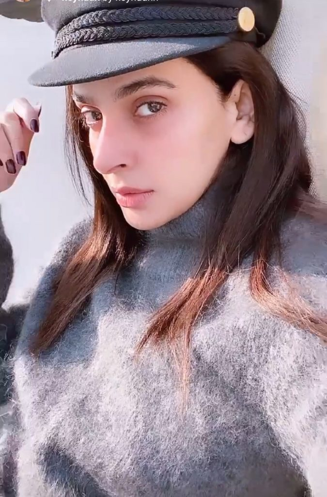 Saba Qamar Cozy Winter Look
