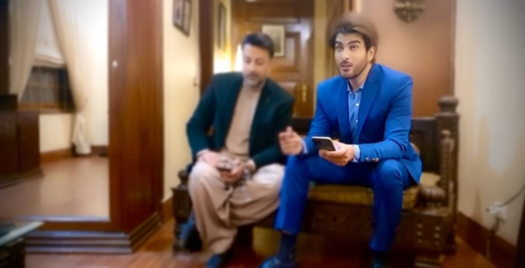Imran Abbas And Babar Ali Singing Together