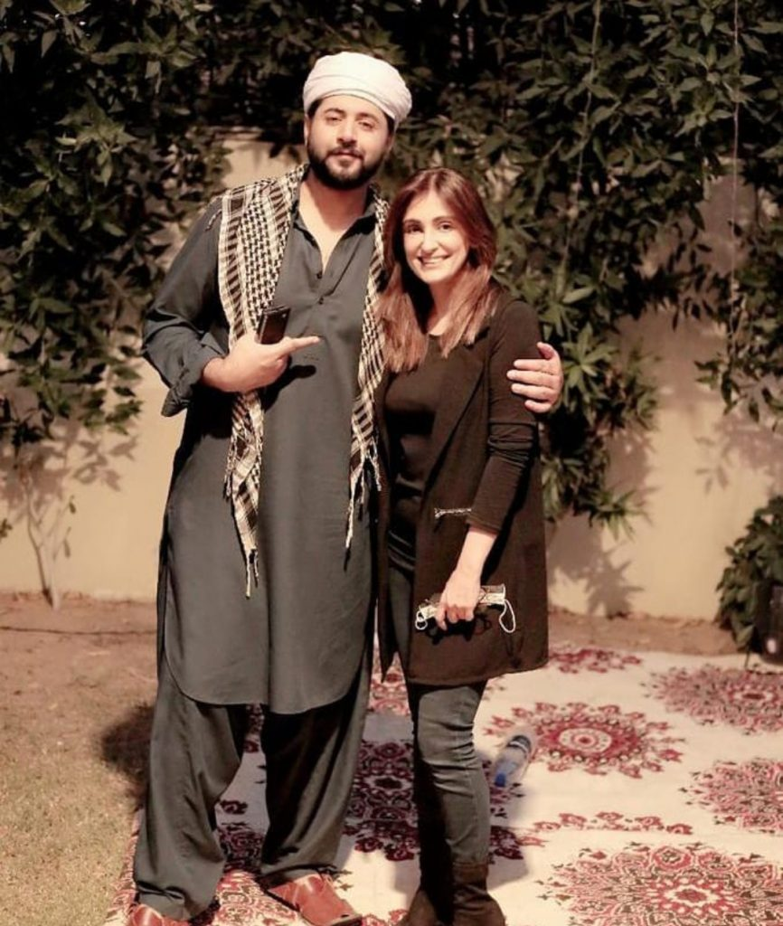Imran Ashraf Shares Picture With Sajal Aly