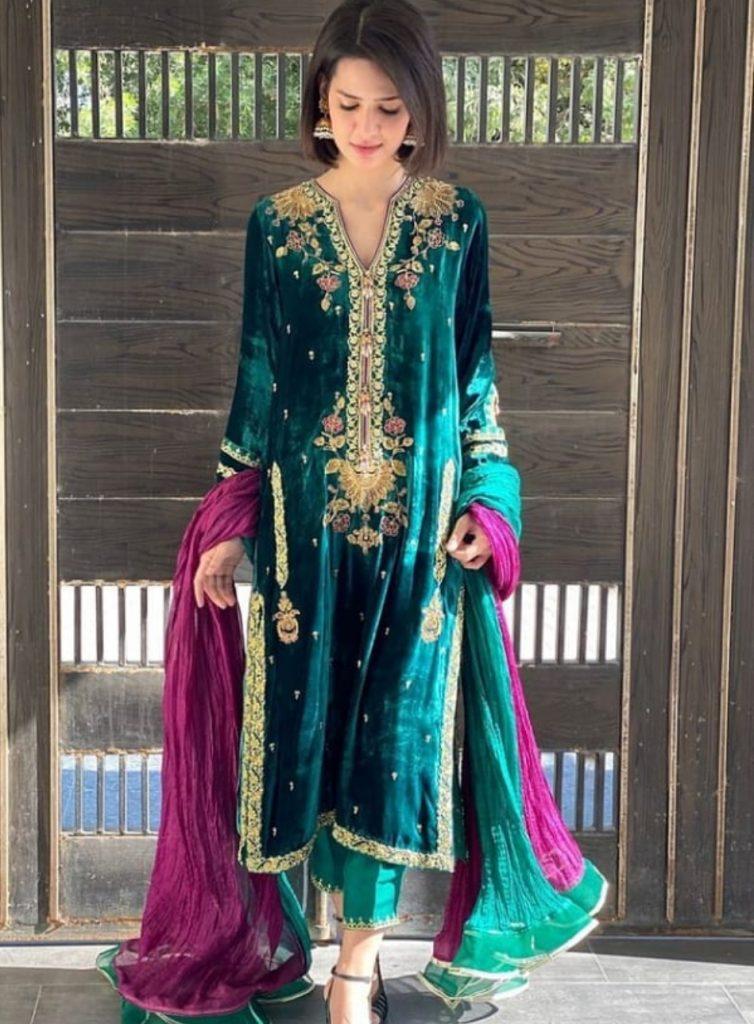 Madiha Imam look for Wedding