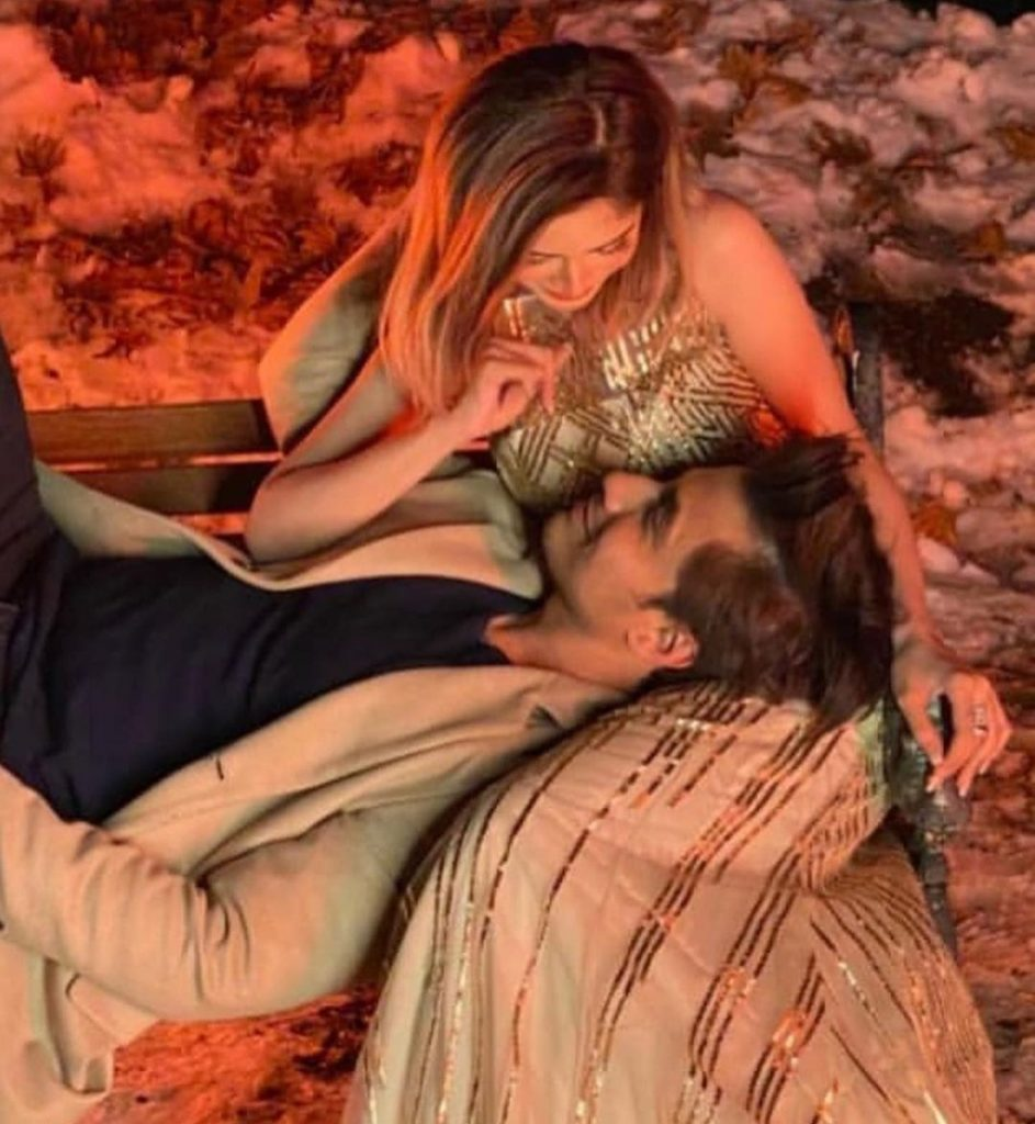 First Look Of Ali Zafar's New Song Ft. Aima Baig