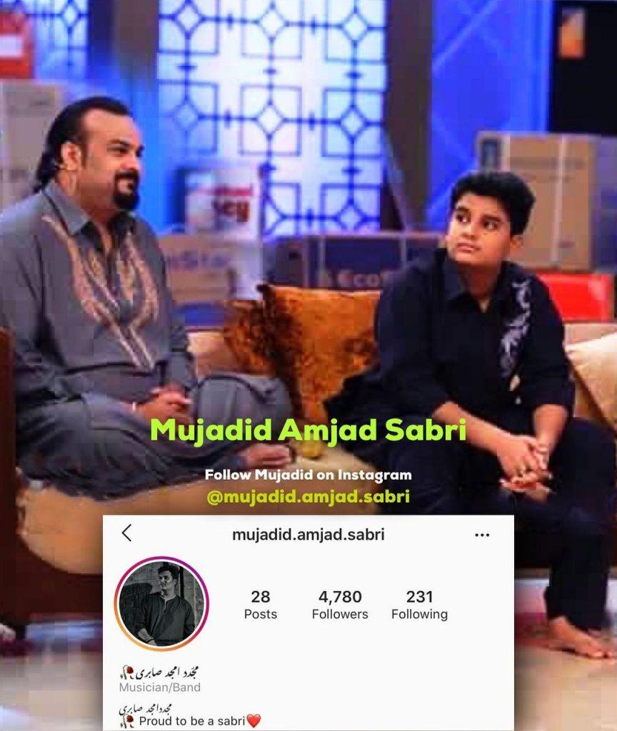 Amjad Sabri's Son Wished him Birthday In Emotional Way