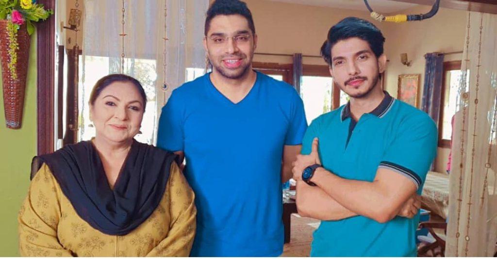 BTS Pictures of Hum TV Drama Dil Tanha Tanha