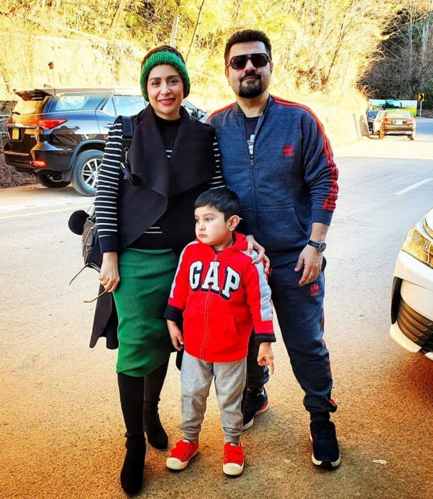 Ahmad Ali Butt Vacationing with Family