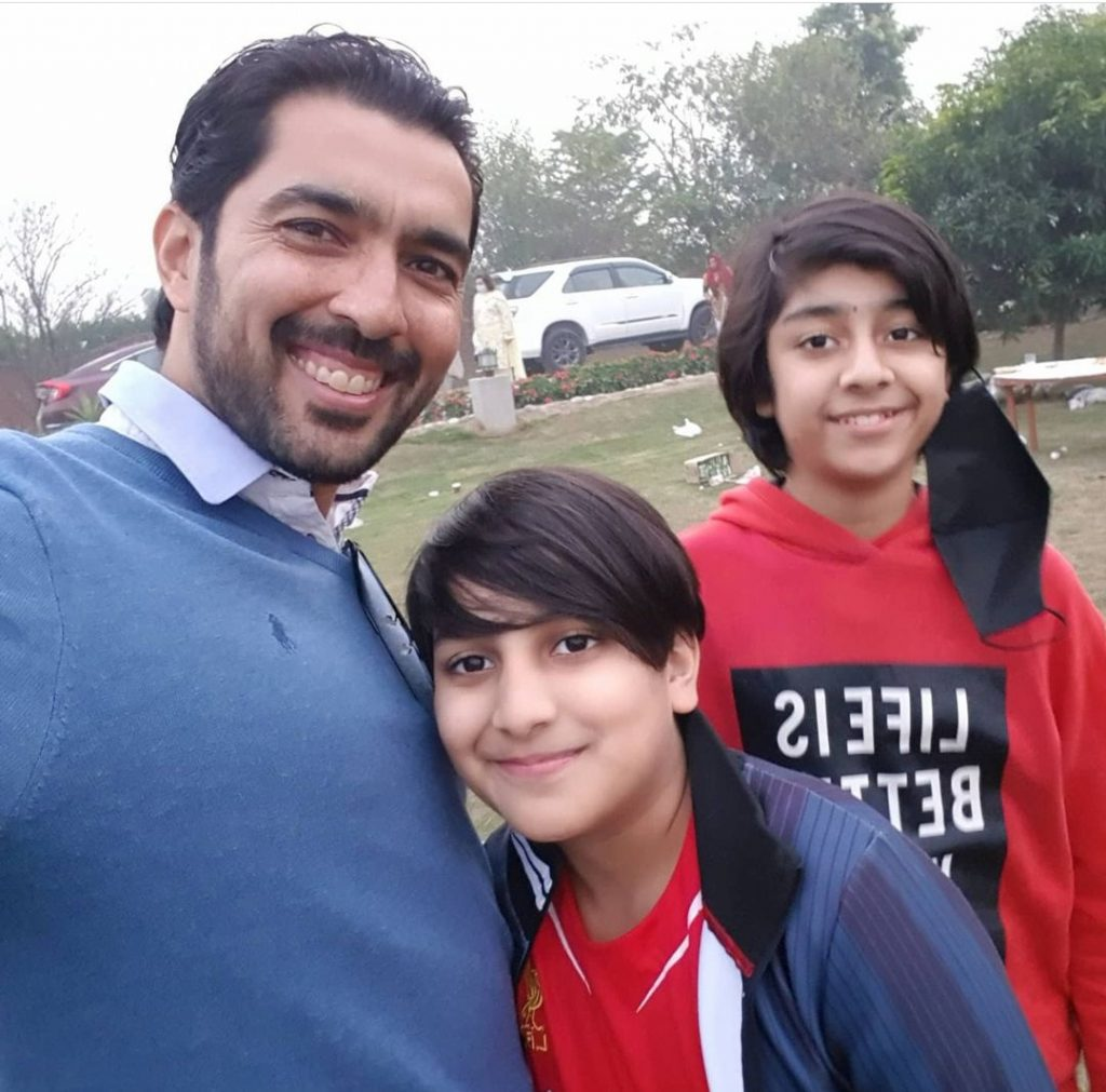 Aisam Ul Haq Qureshi Family Pictures
