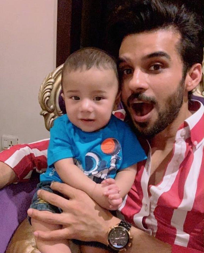 Fahad Sheikh's Little Nephew Passed Away