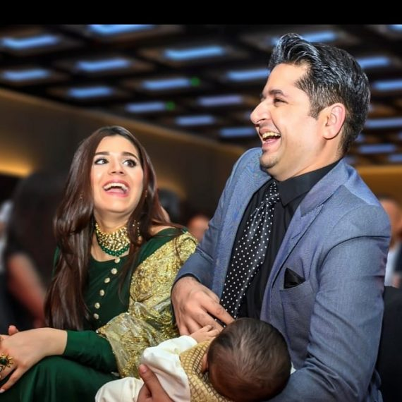 Imran Ashraf Gets Excited As His Son Recites Alphabets