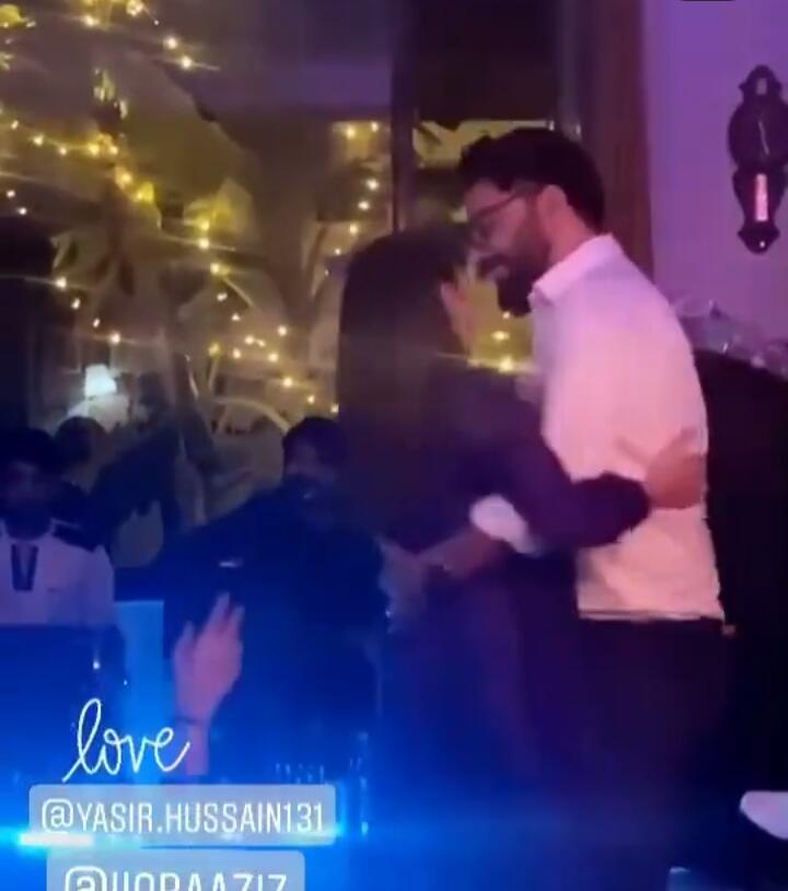 Iqra Aziz And Yasir Hussain's Beautiful Dance Video
