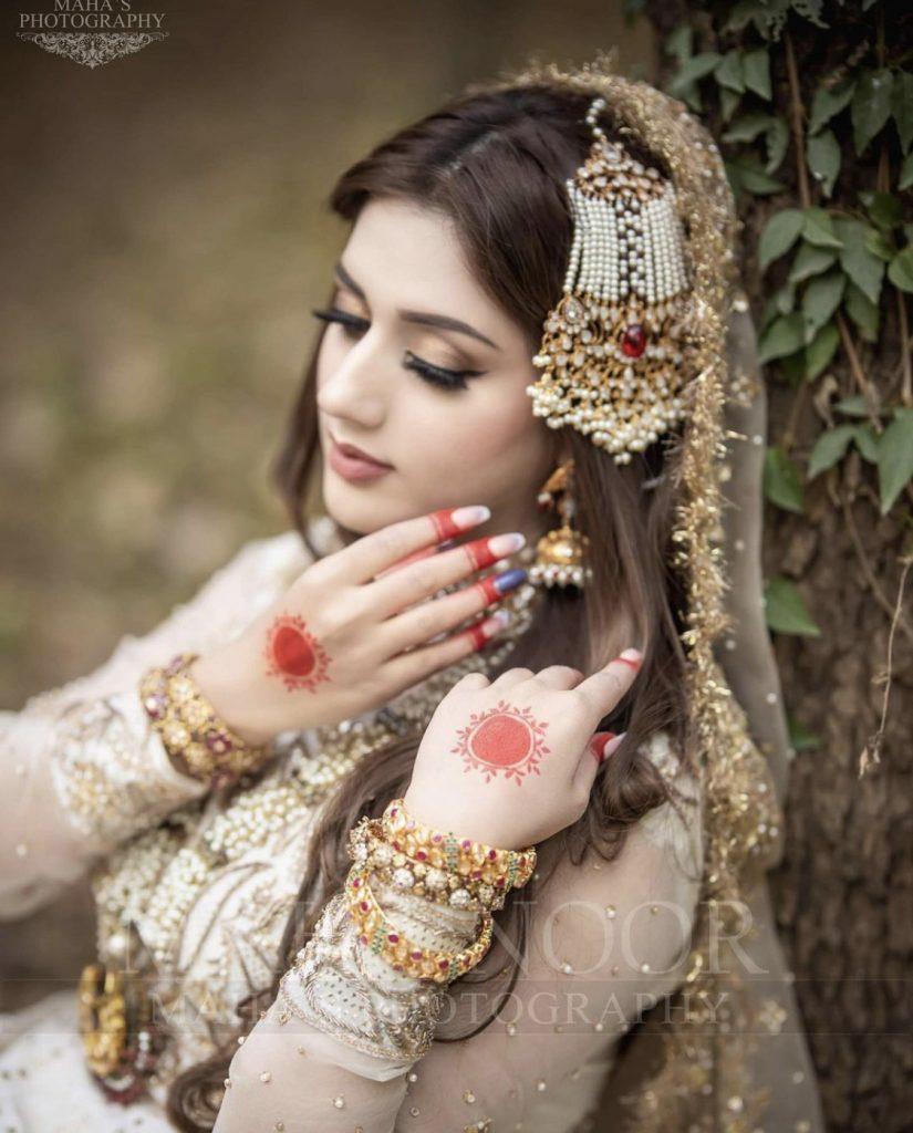 Latest Bridal Photoshoot Of Jannat Mirza