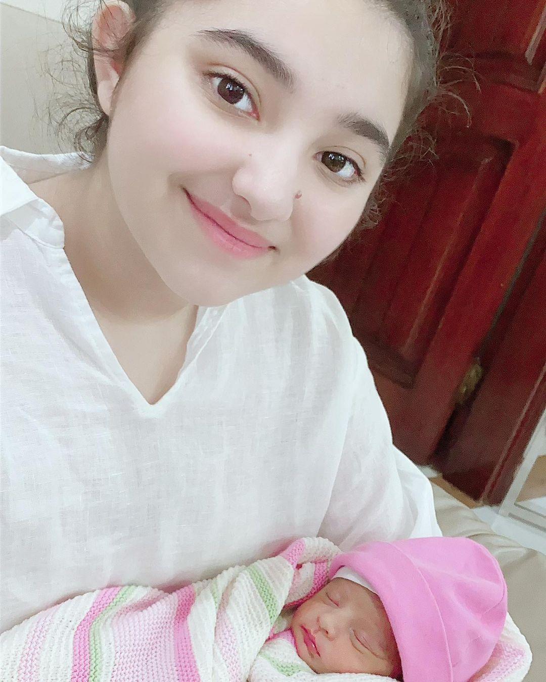 Javeria and Saud Daughter Jannat Birthday Pictures