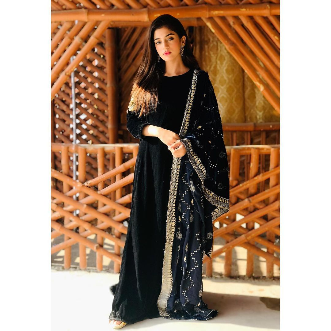 Actress Laiba Khan Clicks at Gorakh Hill Station in Sindh