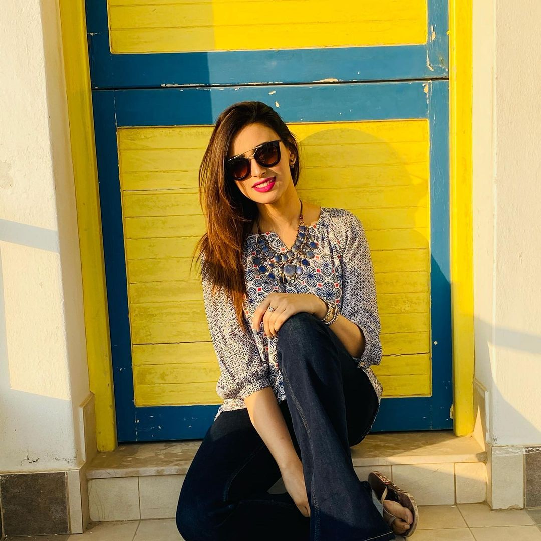 Madeha Naqvi with Husband Faisal Sabzwari - Latest Pictures