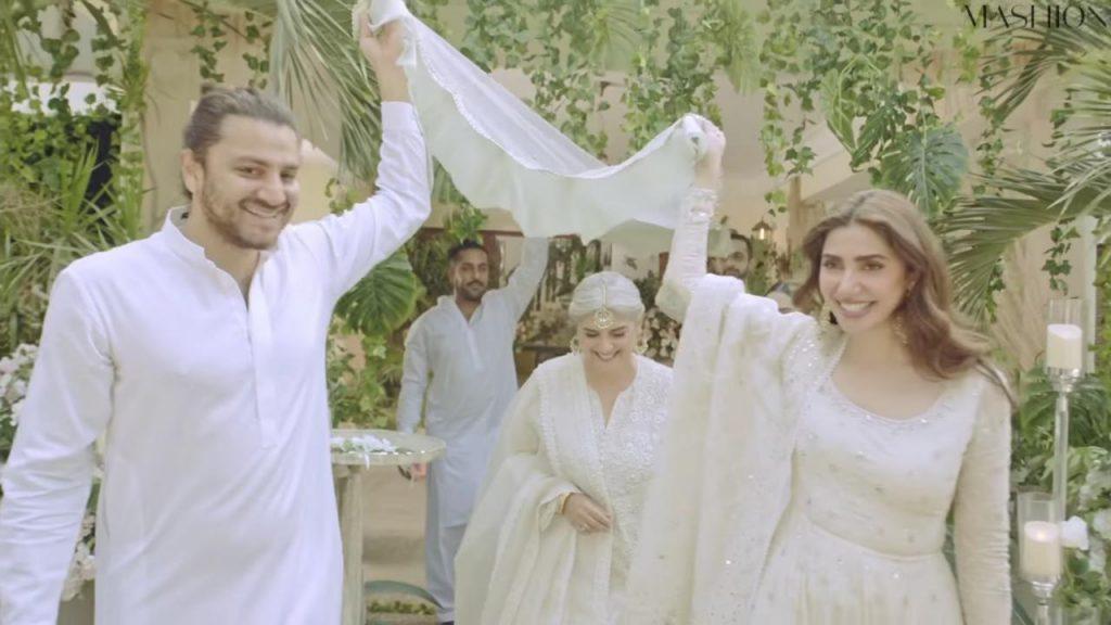 Mahira Khan And Marina Khan Bring Special Wedding Message