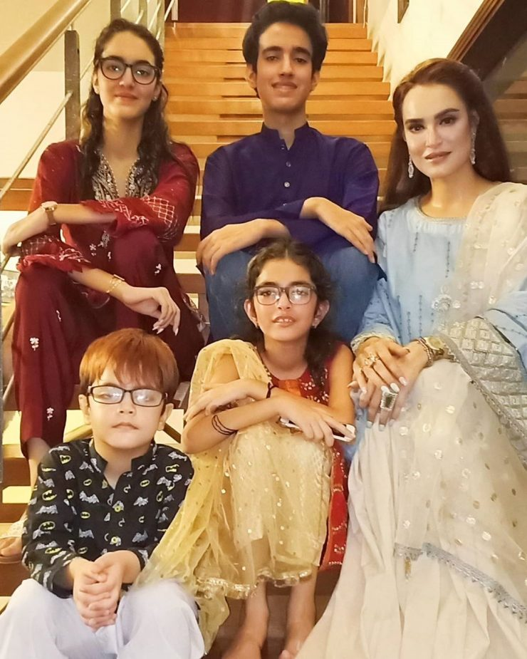 Nadia Hussain Shows Her Clothes Collection