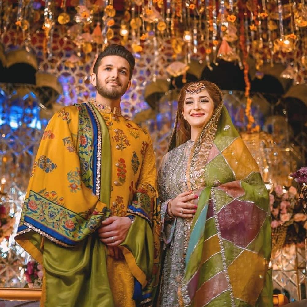 Naimal Khawar Sister Fiza Khawar Mehndi - New HD Pictures