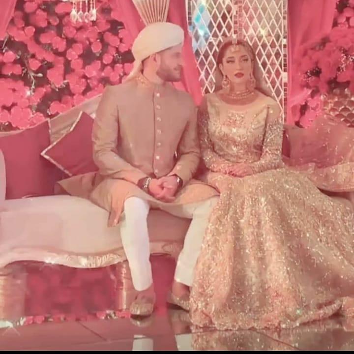 Naimal Khawar Sister Fiza Khawar Wedding Pictures