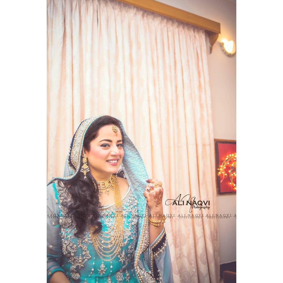 Wedding Pictures of Host Najiya Baig - Throwback