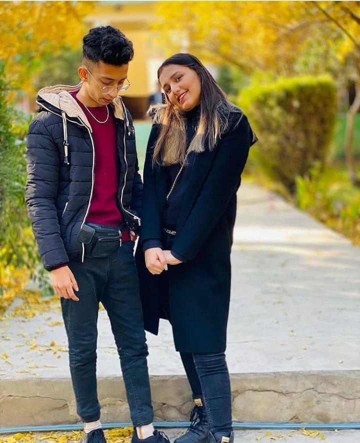 Asad And Nimra Enjoying Winters in Hunza Valley