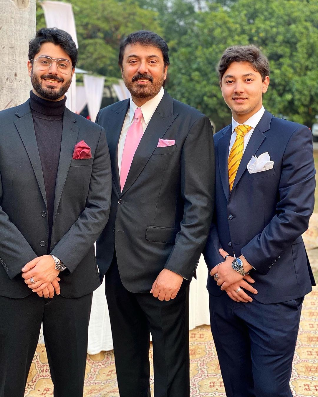 Actor Noman Ijaz Family Pictures from Relative Wedding