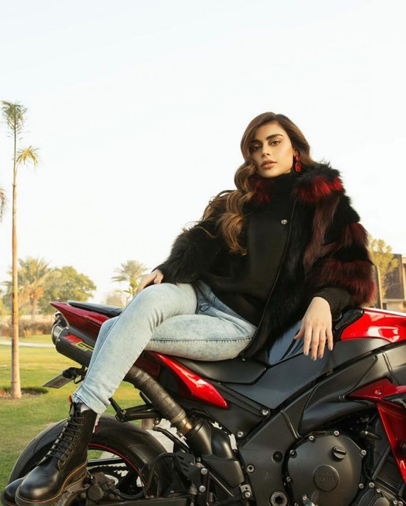 Sadaf Kanwal Exquisite Photo Shoot For The Riches Club