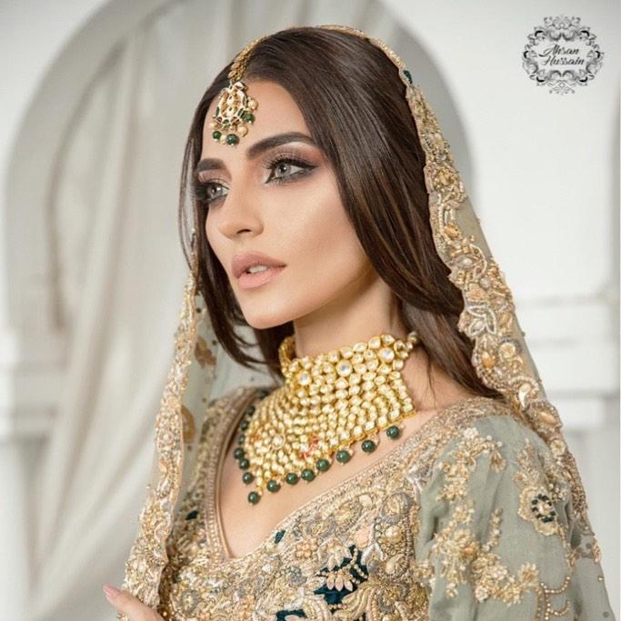 Sadia Khan's Bridal Photoshoot - Beautiful Pictures