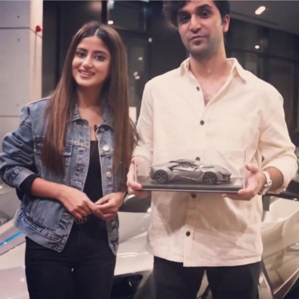Sajal And Ahad Exploring Dubai.