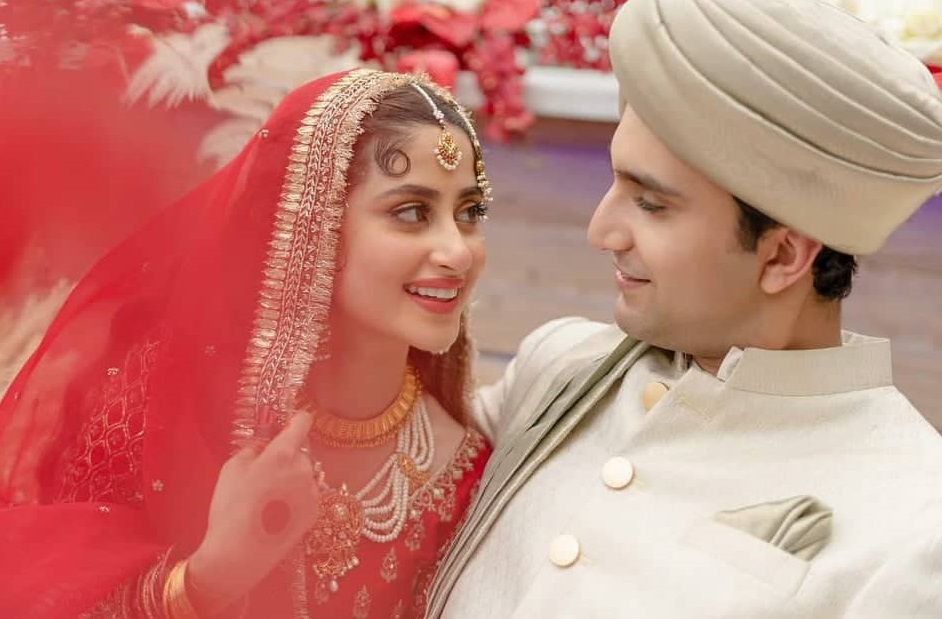 Unseen Video From The Wedding Of Sajal Aly And Ahad Raza Mir