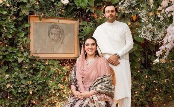 Bakhtawar Bhutto Zardari shares video from her engagement