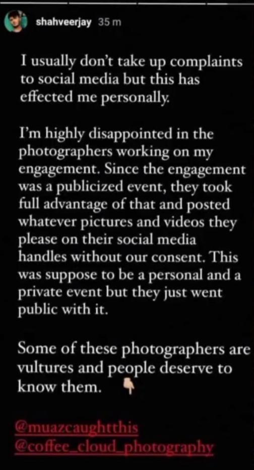 Shahveer Jafry Angry On Photographers