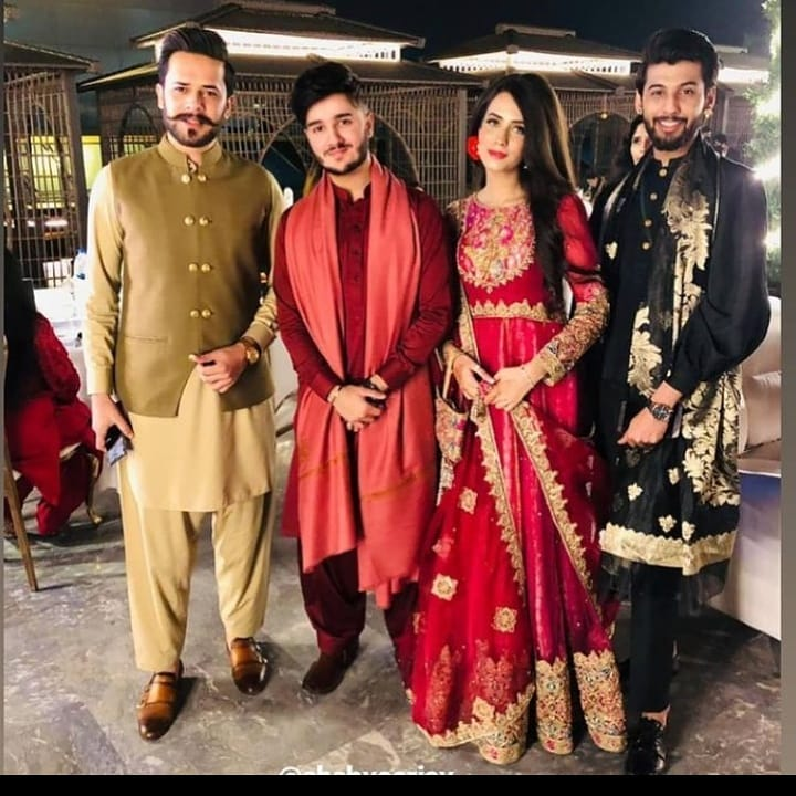 Shahveer Jafry Dancing With Fiancé Ayesha Beig