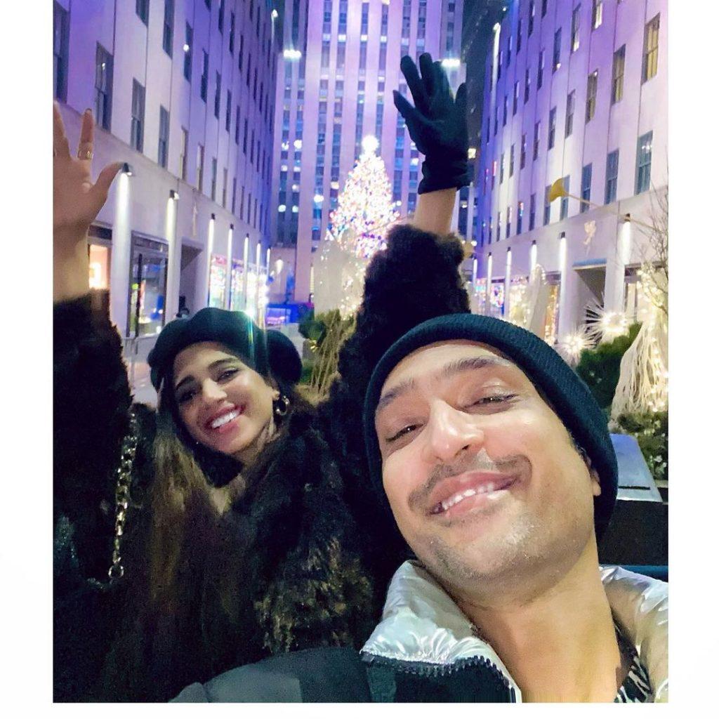 Sonya Hussyn And Ali Sethi Spent Christmas Together