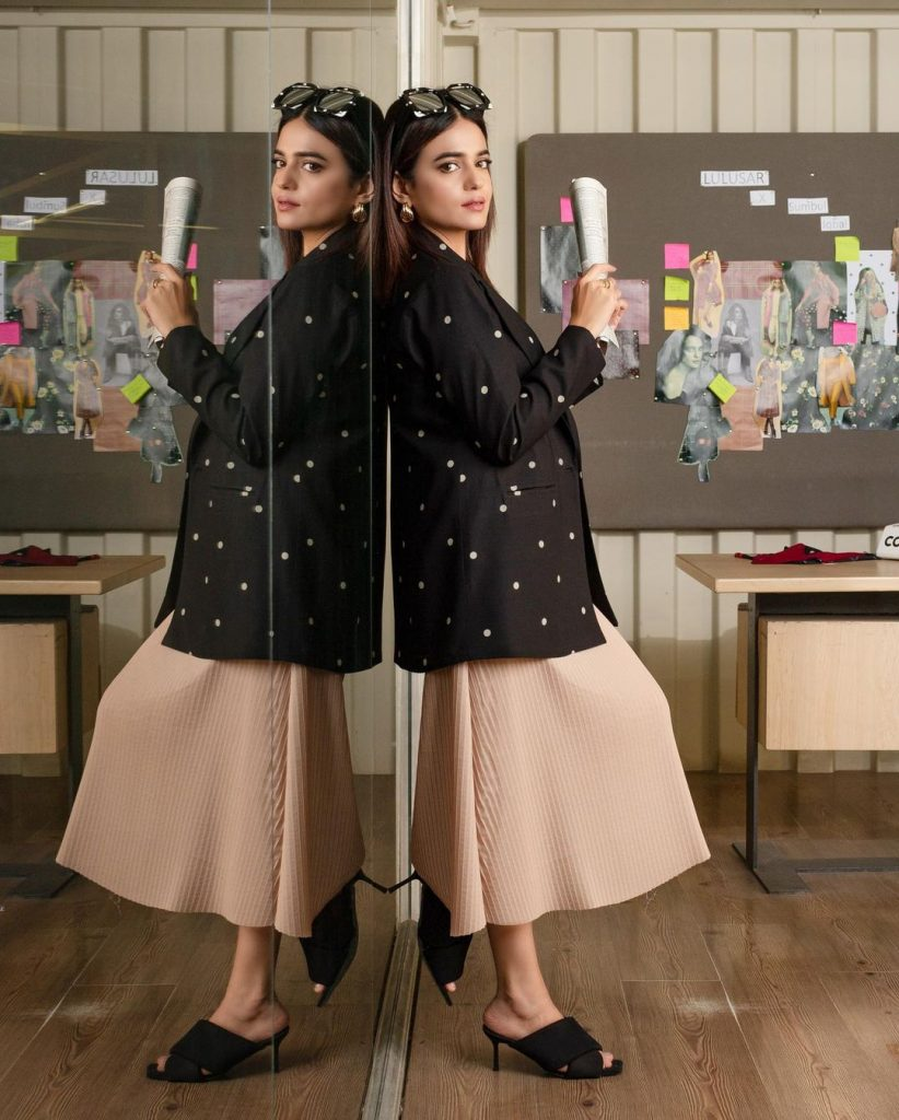 Sumbul Iqbal Featured In Lulusar's Latest Collection