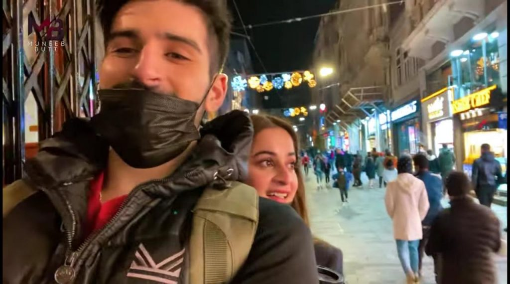 Vlog Of Aiman Khan And Muneeb Butt's Visit To Turkey