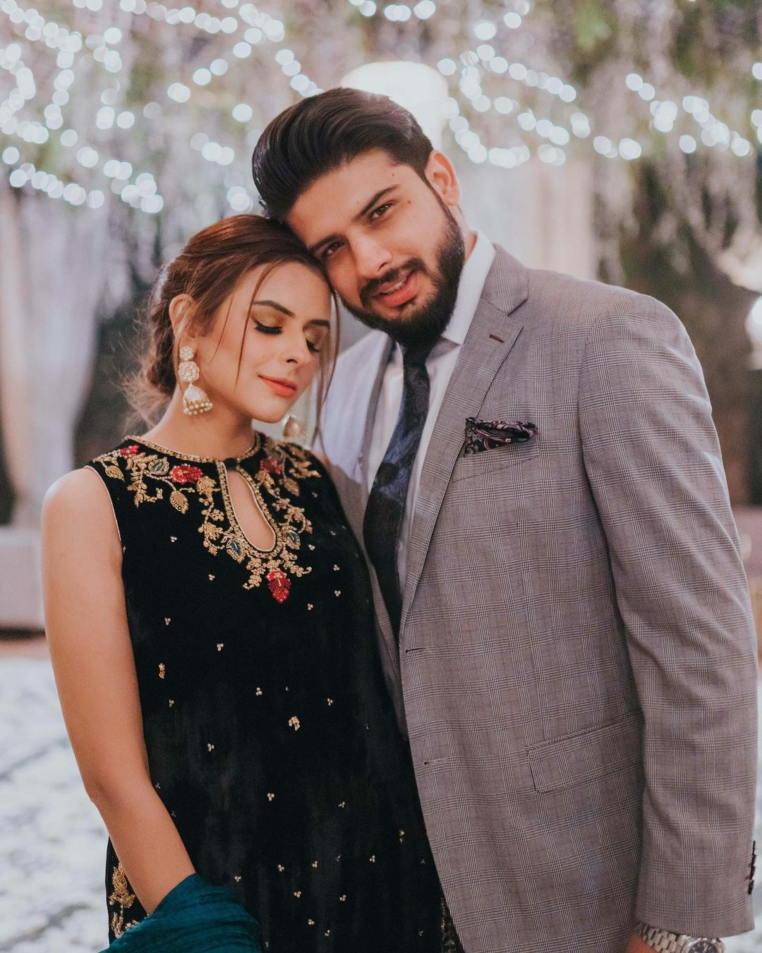 Model Waliya Najib Latest Clicks with her Husband